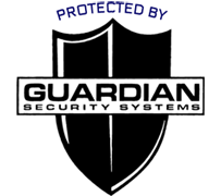Protected by Guardian Security Systems